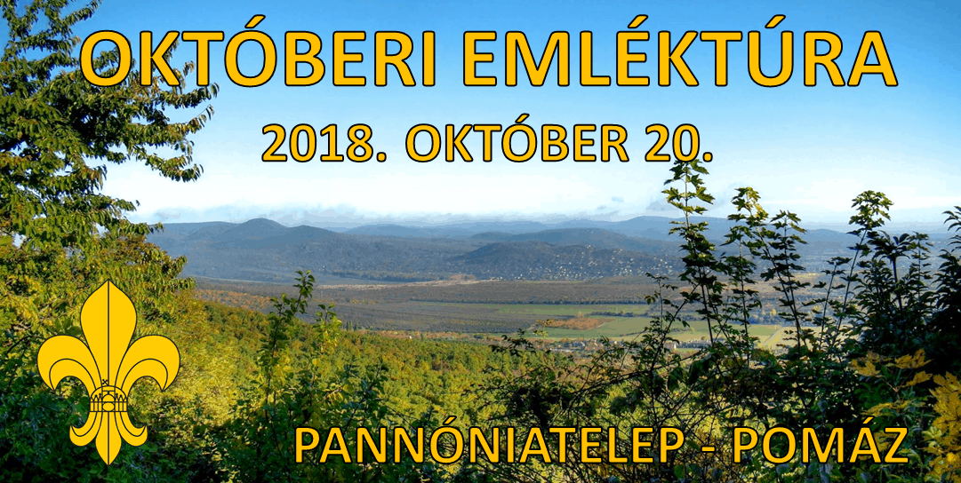 Emlék- és teljesítménytúra – 2018. október 20.