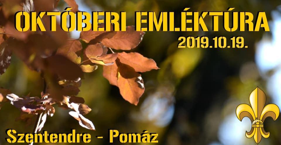 Emlék- és teljesítménytúra – 2019. október 19.